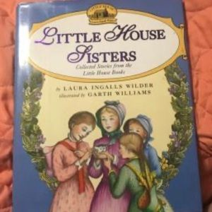 Other - 📦3/$13 - Little House Sisters hardcover book